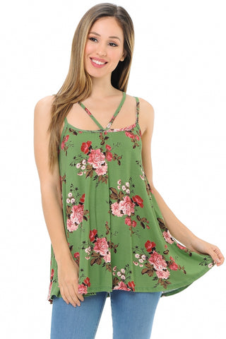 Talk of the Town Floral Vest