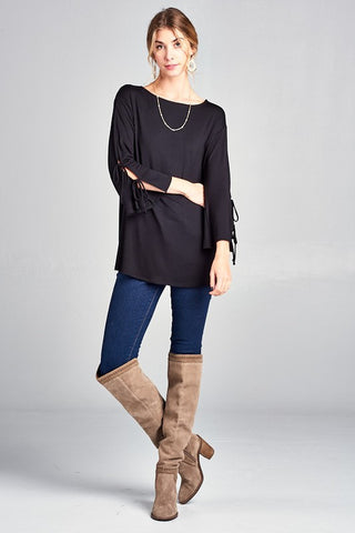 Lexington Wrap in Black
