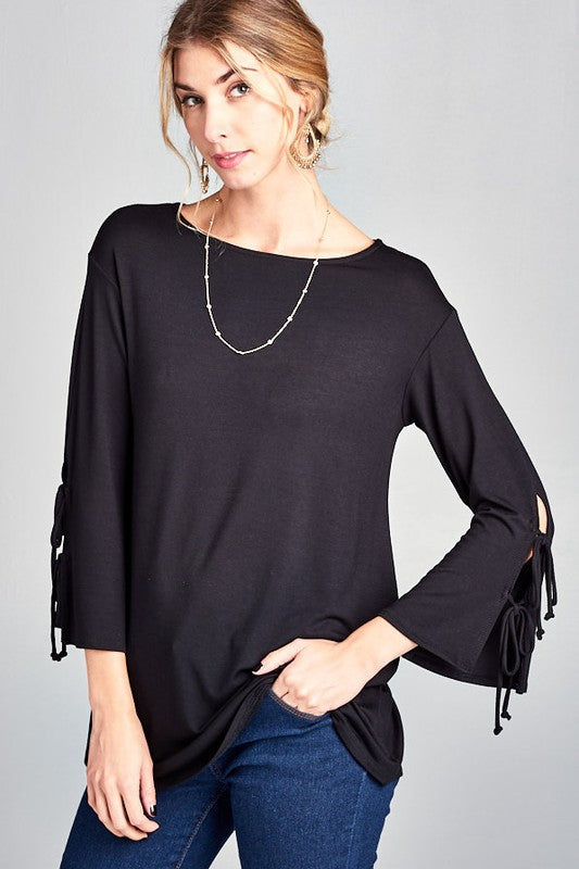 Time of My Life Tunic in Black - Top - MIA Boutique LLC