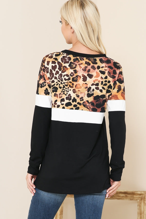 Chasing Adventures Leopard Print Top