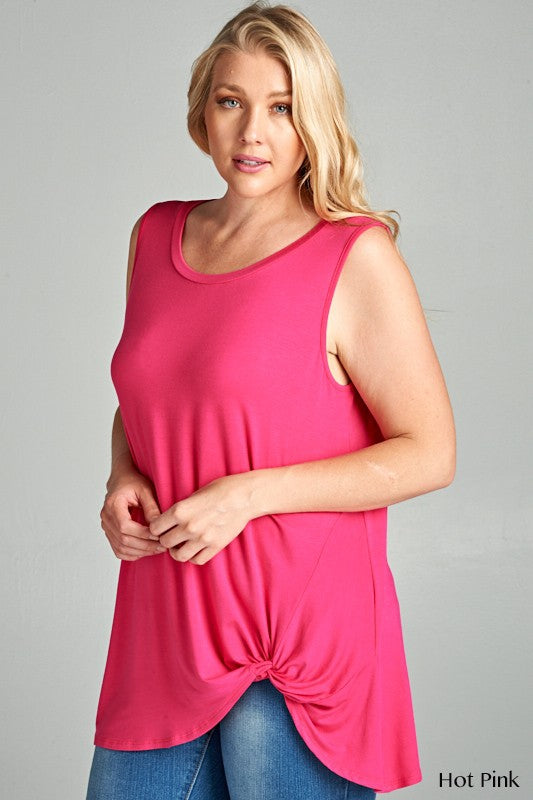 The Gaynale Tunic in Hot Pink - Women's - MIA Boutique LLC
