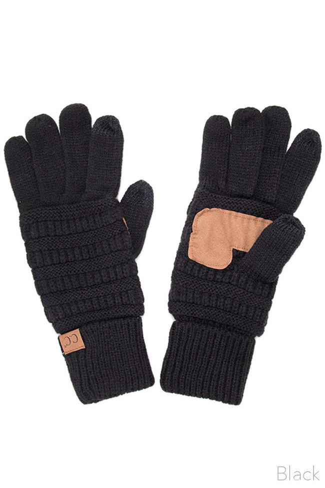 Mountainside SmartTips Gloves in Black