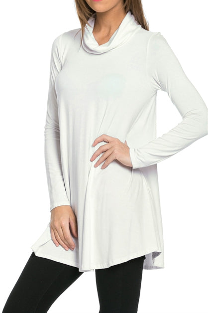 The Christina Tunic in Ivory - Top - MIA Boutique LLC