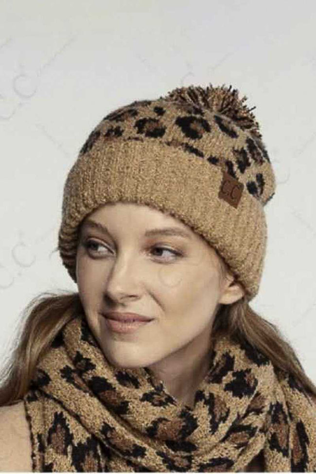 Warming Up to Winter Pom Pom Beanie in Latte