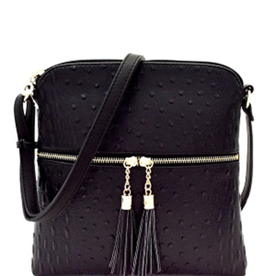 Gotta Run! Crossbody in Black