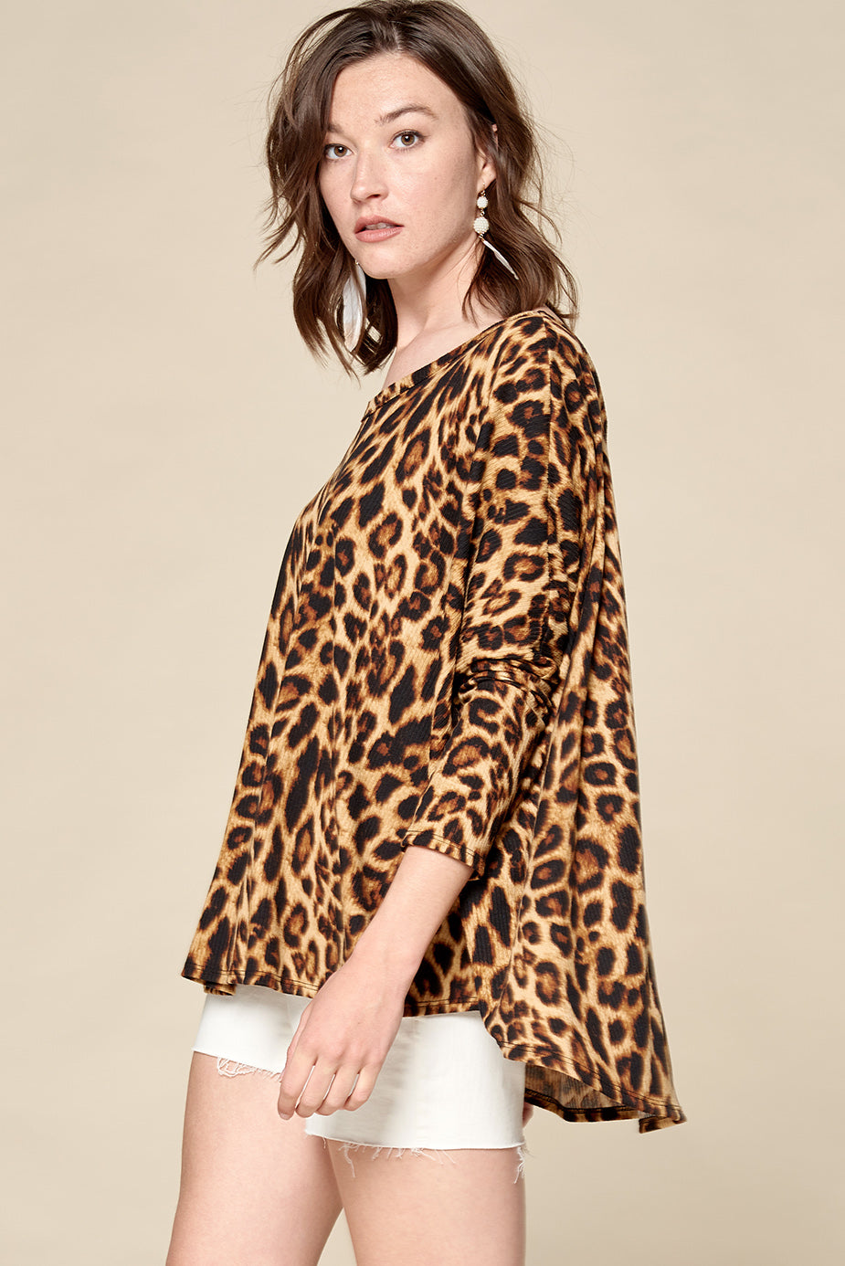 Lively in Leopard Top - Top - MIA Boutique LLC