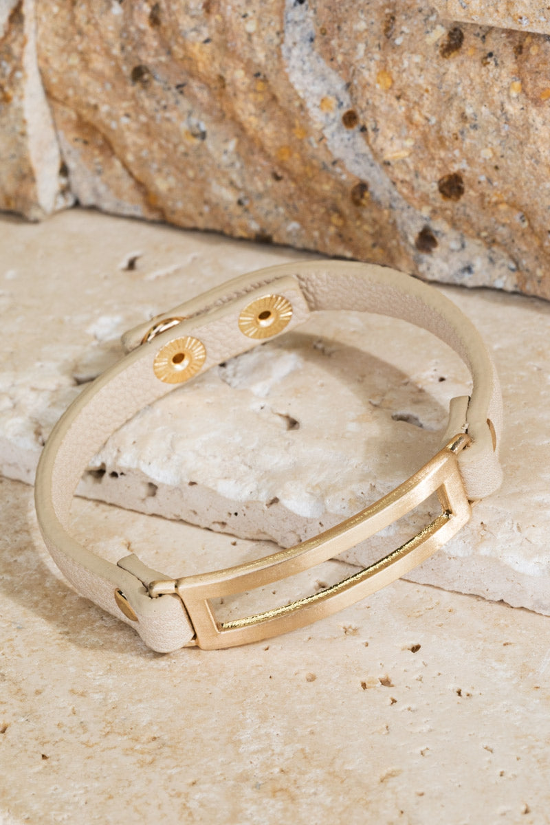 Wear It Everywhere Leather Bracelet - Accessory - MIA Boutique LLC