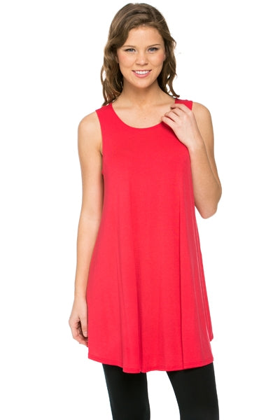The Elizabeth Tunic in Coral