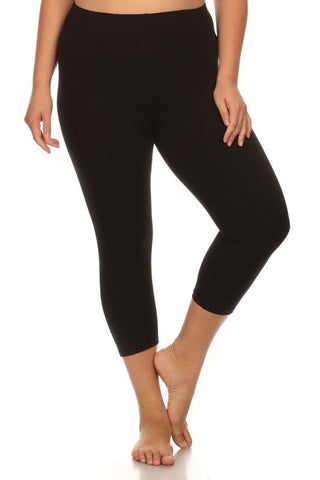 Basic Leggings - Charcoal Grey
