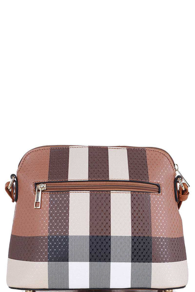 Keeping Hope Crossbody in Brown and Pink - Give Back Item