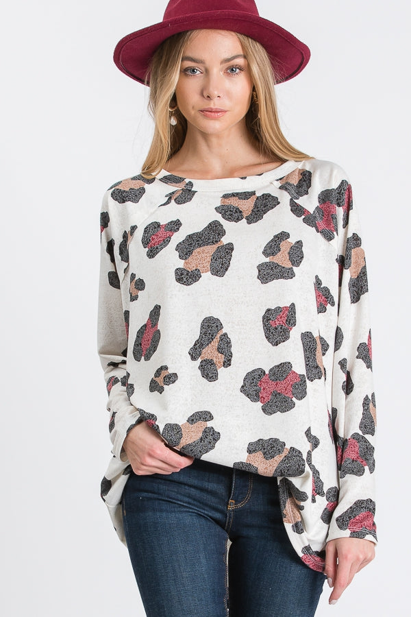 She Knows What She Wants Leopard Tunic - Top - MIA Boutique LLC