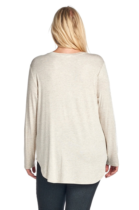 Loads of Love Tunic Tee - Top - MIA Boutique LLC