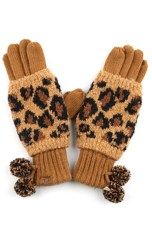 Warming Up to Winter Gloves in Latte