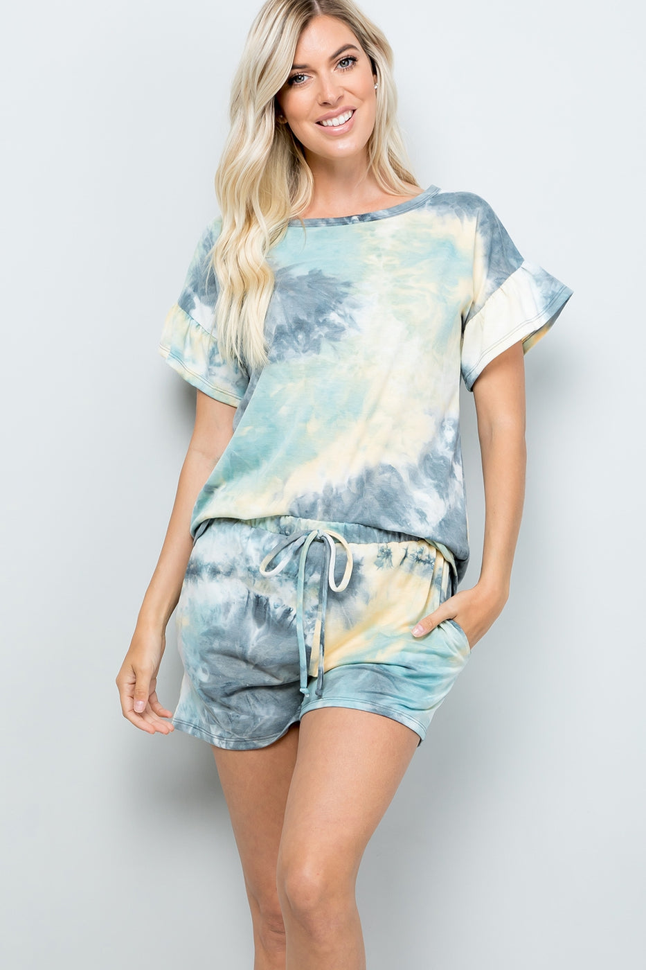 Malibu Shores Tie Dye Top - Top - MIA Boutique LLC
