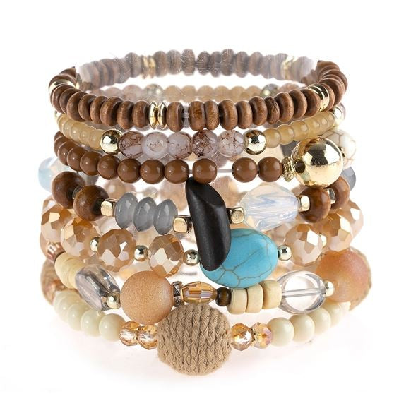 St. Augustine Bracelet Set - Accessory - MIA Boutique LLC