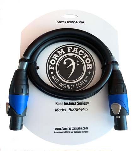 Bi3SP-Pro : Bass Instinct Series ™ Professional Speaker Cable
