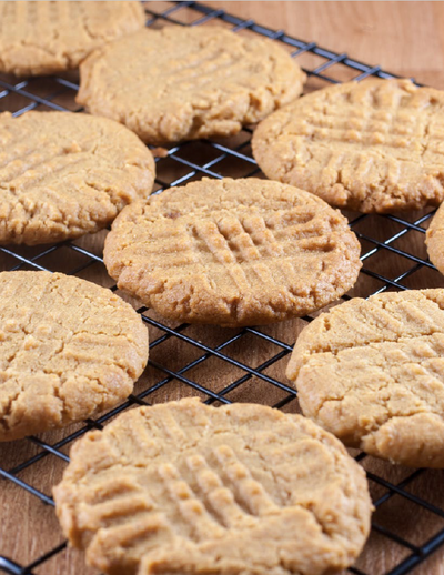 PEANUT BUTTER SOFT FUDGY COOKIES