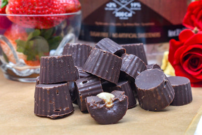 Keto Hazelnut Chocolate Candies