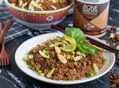 Thai Peanut Beef Bowl