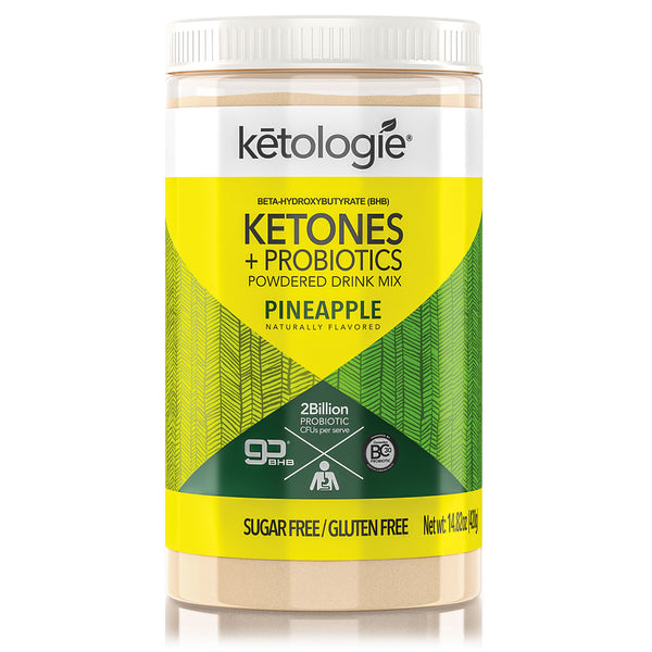 Ketones + Probiotics (Pineapple) - Net Wt.14.82oz