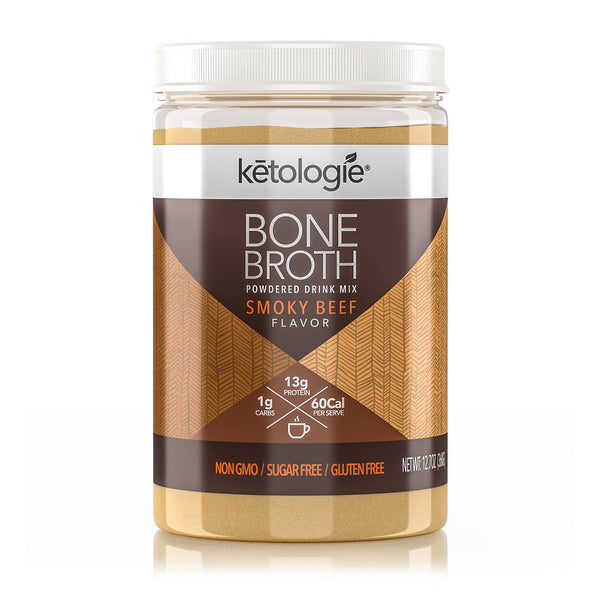 Smoky Beef Bone Broth- Net Wt. 12.7oz