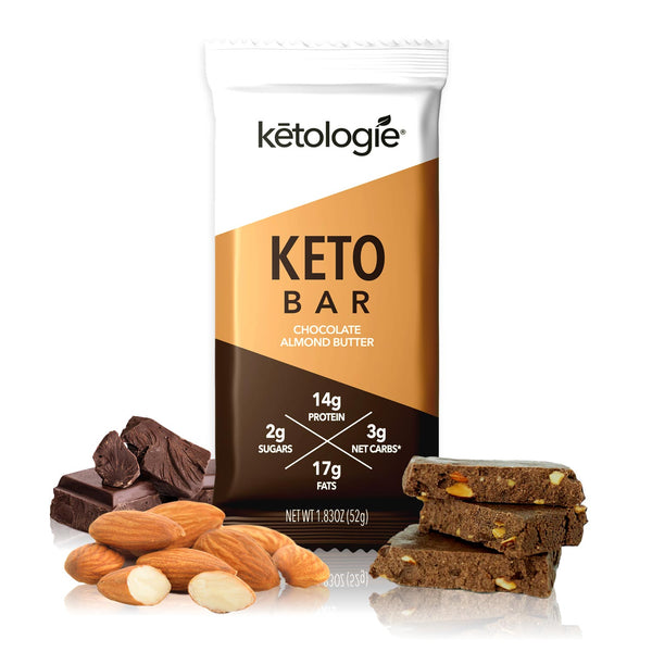 Chocolate Almond Butter Keto Bar (12 Pack)