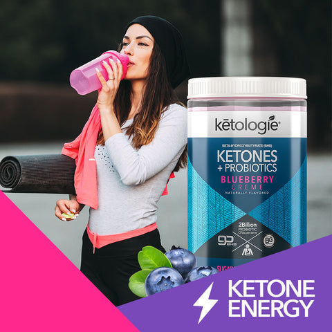 Ketones + Probiotics (Blueberry Creme) - Net Wt.14.82oz