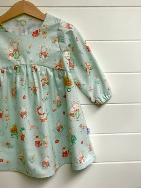 Girls handmade dress