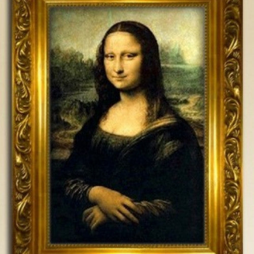 The Mona Lisa Picture Wall Craft