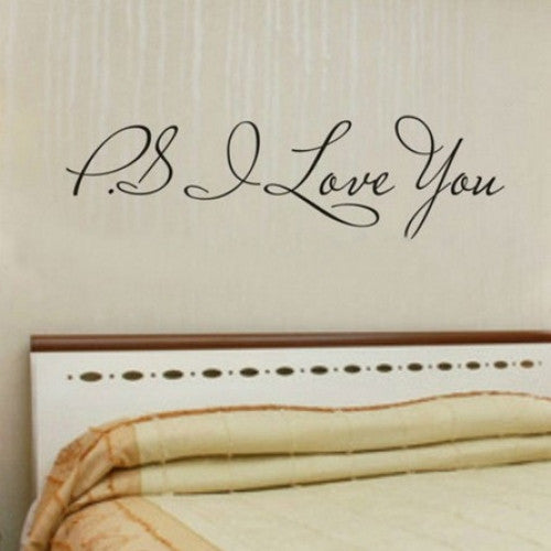 PS I Love You Wall Art Decal Home Decor
