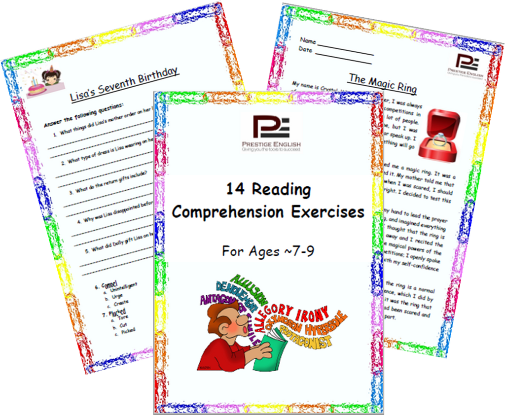 FREE 14 Reading Prehension Exercises For Ages 7 9
