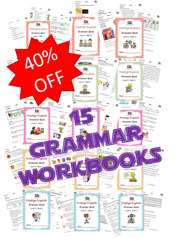 COMPLETE 15 Book Grammar Series - Download