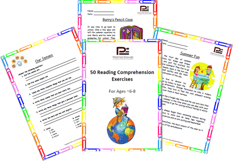 50 Reading Comprehension Exercises for Ages 6-8 (Grade 2) - SAMPLE - Download