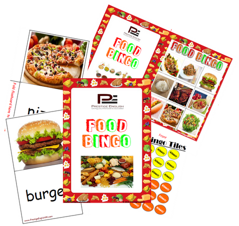 BINGO - Food Bingo - Download