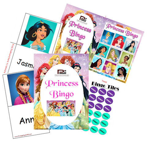 BINGO - Princess Bingo - Download