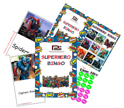 BINGO - Superhero Bingo - Download