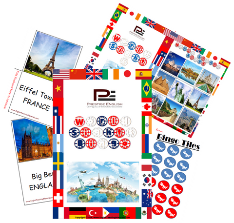 BINGO - World Sights Bingo - Download