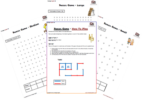 Boxes Game / Dot to Dot Game - FREE - Download