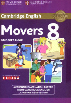 Movers 8 Test (Cambridge English - Young Learners English) - Download