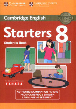 Starters 8 Test (Cambridge English - Young Learners English) - Download