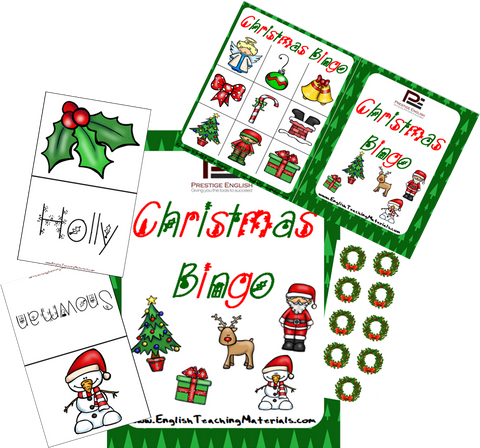 Christmas Bingo | Fun Classroom Game - Download