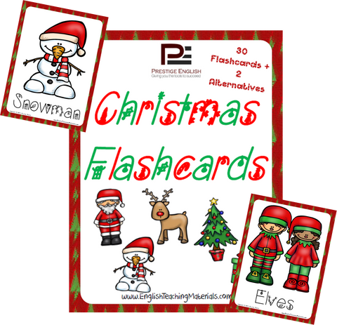 Christmas Flashcards | FREE