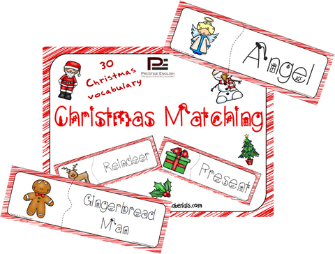 Christmas Matching Game - Download