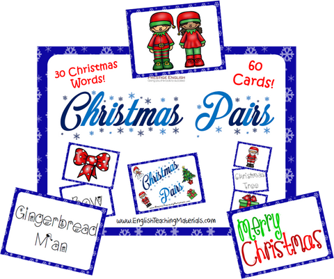Christmas Pairs Game - Download