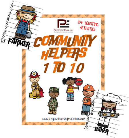 Community Helpers 1 to 10 - Download