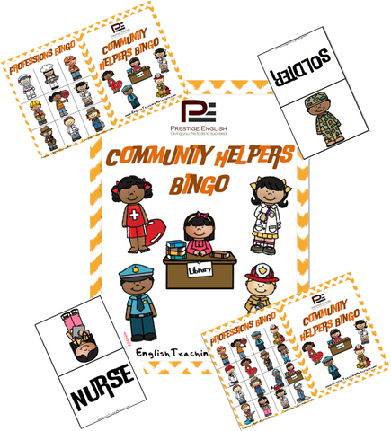 Community Helpers Bingo - Download