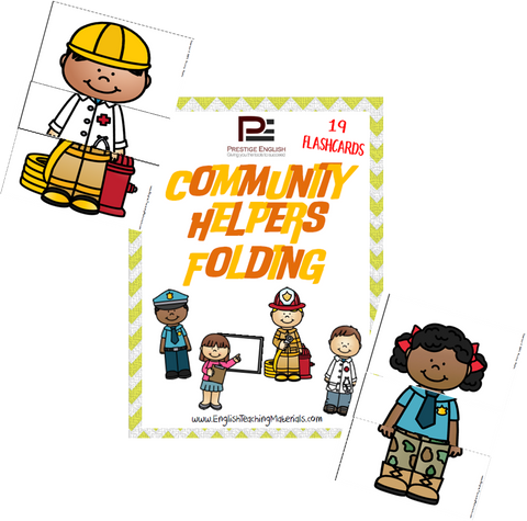 Community Helpers Folding - Download