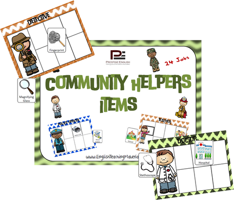Community Helpers Items - Download