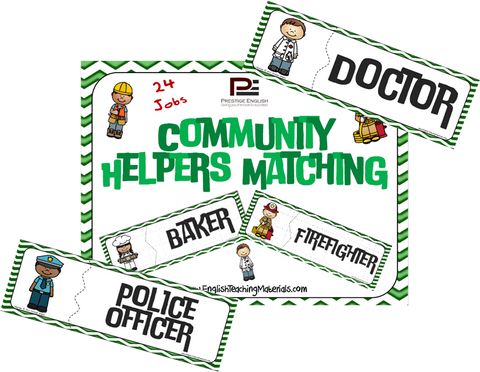 Community Helpers Matching - Download