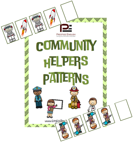 Community Helpers Patterns - Download